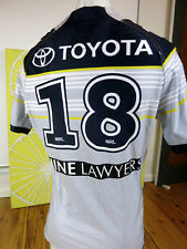 NORTH QUEENSLAND COWBOYS  2017 AWAY MATCH JERSEY  PLAYERS,  No. 18  NYC