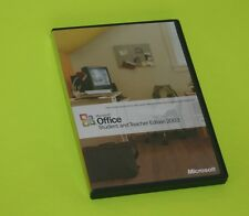 Microsoft Office 2003 Student Teacher Edition with Users Guide and Product Key