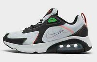 NEW Men's (SELECT SZ) NIKE Air Max 200 Athletic Shoes CU6647-100 WHITE / BLACK