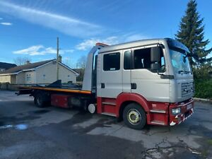 man tgl 12 tonne tilt slide recovery truck 3 car