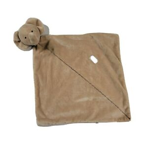 Lovey Blanket Just One Year Carter's Baby Rattle Elephant Tan Precious Firsts