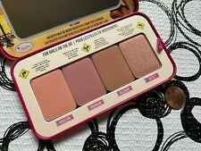 The Balm GRL PWDR Cheeks on the Go * 4 Shade Blush Palette * NWOB