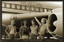 """LED ZEPPELIN AIRPLANE STARSHIP POSTER PRINT ROCK METAL MUSIC GROUP 24""""x36"""" - NEW"""