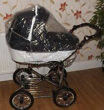 PVC RAINCOVER FITS SILVER CROSS FREEWAY PRAM LINEAR