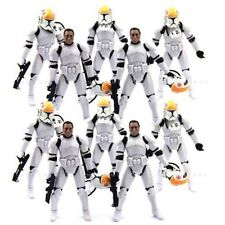 Lot 10 Star Wars Clone Pilot TROOPER 501st action Figure 2005 movie Hot toy S342