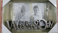 Fetco Home Decor 6 x 4 Wedding Day Picture Frame