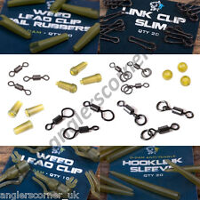 Nash Terminal Tackle / Swivels / Rubbers / Beads / Clips / Carp Fishing