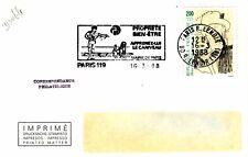 X86 enveloppe thème CHIEN propreté bien etre apprenez lui le caniveau PARIS 1988