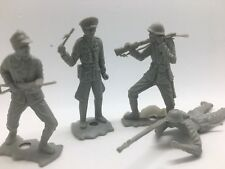 MPC Plastic German and Allied WW2 Army Men Vintage