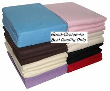100% Brushed Cotton Flannelette Duvet Cover All Sizes and Colours