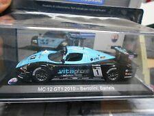 MASERATI MC12 MC 12 GT1 Fia GT 2010 #1 Bartels Bertolini vitaphone IXO Leo 1:43