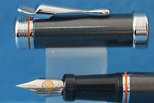 c1990 Harley Davidson Anthracite Grey Medium Fountain Pen