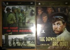 4DVD  DAWNS HERE ARE QUIET.+ They Fought for Their Motherland WWW II MOVIES