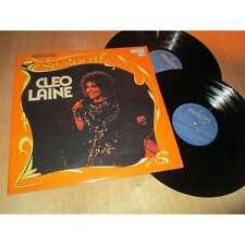 CLEO LAINE - spotlight on cleo laine - VOCAL JAZZ POP - PHILIPS UK 2 Lp's 1974