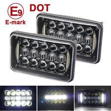 2pcs 4X6'' 5D DOT 60W LED Headlight Light Bulb Hi/Lo Beam Headlamp DRL Truck SUV