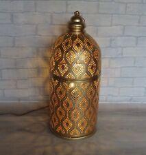 Moroccan design Gold Floor/Table Lamp