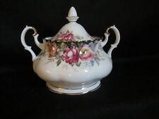 Royal Albert  - AUTUMN ROSES - Covered Sugar Bowl