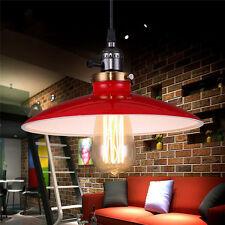 Red Vintage Ceiling Lamp Kitchen Pendant Light Fixtures Mini Chandelier Lighting