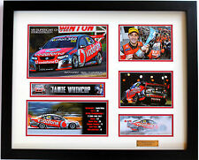 New Jamie Whincup Signed Limited Edition Memorabilia Framed
