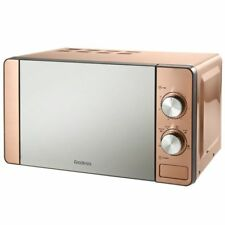 Goodmans Copper Microwave  6 Heat Settings & Stylish Mirror Finish Door 20L