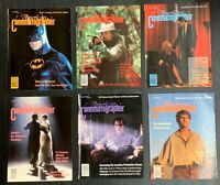 American Cinematographer Magazine (Lot of 6) 1990's Issues - Great Condition