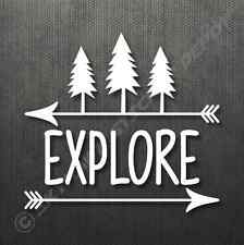 Explore Bumper Sticker Vinyl Decal Car Truck Window Decal Hiking Camping Outdoor