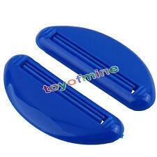 Household 2Pcs Squeeze Tube Dispenser Squeezer Easy Press Toothpaste Bathroom