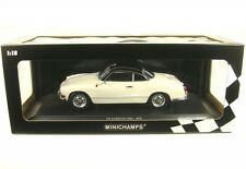 1 18 Minichamps VW Karmann Ghia Coupe 1970 White/black Limited