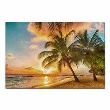 Canvas Wall Art Print Painting Picture Home Room Decor Sea Beach Landscape Photo