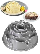 "NORDICWARE Valentine 9"" ROSE BUD BUNDT Cake JELLO Mold 10-Cup HEAVY Cast Pan NEW"