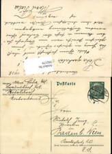 592179,Postkarte Stempel Eggenburg n. Baden bei Wien 1938