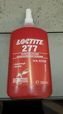 LOCTITE 277 high strength,high viscosity methacrylate-based,red threadlock 250ml