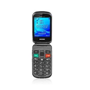 BRONDI AMICO FEDELE CELLULARE GSM NERO TASTI GRANDI
