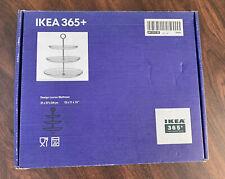 "Ikea 365+ Glass 3 Tier, Design By Louisa Wattman, 12"" X 11"" X 13"""