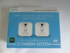 Blink Xt Home Security Two Camera System w/ Base Sync Module-1080p Hd-White