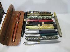 New ListingLot of 16 Vintage Nice Writing Pens and Pencils *