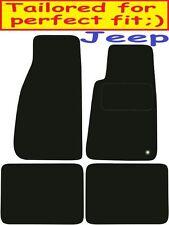 Calidad de lujo a medida Alfombrillas De Coche Jeep Grand Cherokee 1998-2006 ** negro **