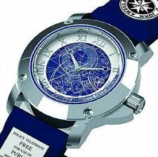 Doctor Who Tardis Collectors Watch Gift Boxed Analogue Quartz Blue Leather Strap