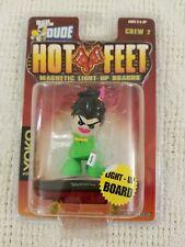 Tech Deck Dude Crew 2 Hot Feet Magnetic Light Up Boards Yoko #70 New Sealed 2002