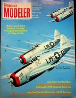 Vtg American Modeler Magazine September 1961 Smith Stevens Proto Racer m158