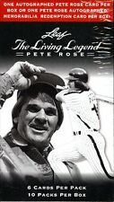 2012 LEAF PETE ROSE THE LIVING LEGEND BASEBALL HOBBY BOX FACTORY SEALED NEW AUTO