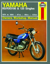 HAYNES WORKSHOP SERVICE REPAIR MANUAL YAMAHA RS 100 RXS100 RS 125 DX SINGLES