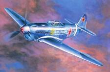 YAKOVLEV YAK 1 B - WW II FIGHTER (SOVIET & POLISH AF MARKINGS)  1/72 MISTERCRAFT