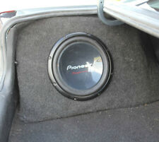EMPTY! Holden VY VZ Sedan Passenger 12inch sub fibreglass subwoofer box for HSV