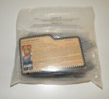 2010 GI JOE LT. DOLPHIN & NATALIE POOLE JOECON Convention souvenir set Q-force