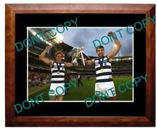 DUNCAN & ENRIGHT GEELONG CATS 2011 PREMIERS A3 PHOTO