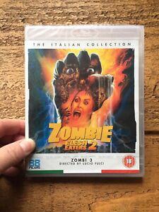 ZOMBIE FLESH EATERS 2(ZOMBI 3)..88 FILMS BLURAY LUCIO FULCI SEALED!.