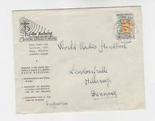 angola 1958 map,on cover   q2264