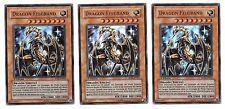 3 DRAGON FELGRAND YuGiOh x3 Español SDRL-EN001 SP0001 FOIL NM 1st Edition x3 SR
