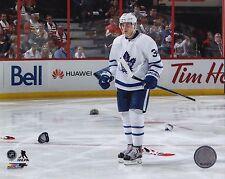Toronto Maple Leafs 8x10 Picture Auston Matthews Hat Trick Photograph Hockey NHL